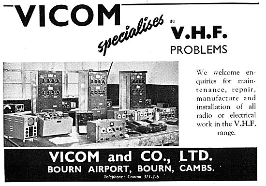 Vicom Specialists In VHF Radio - Sales, Servicing & Spares