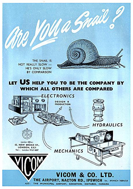 Vicom Electronics, Aircraft Repairs & Servicing