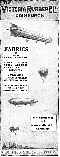 Victoria Rubber Co Ltd Fabrics For Airship Ballonets