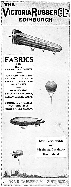 Victoria Rubber Fabrics For Airships & Balloons