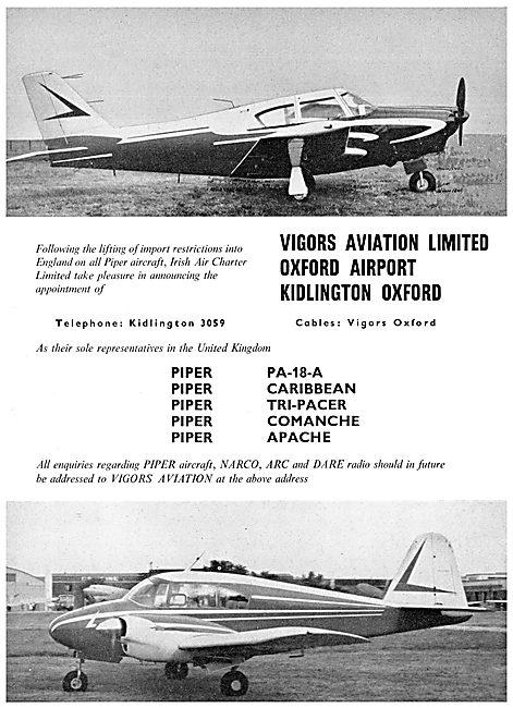 Vigors Aviation - Piper Comanche - Piper Apache