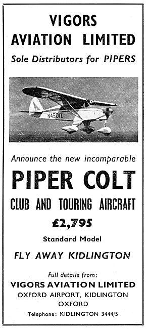 Vigors Aviation - Piper Colt