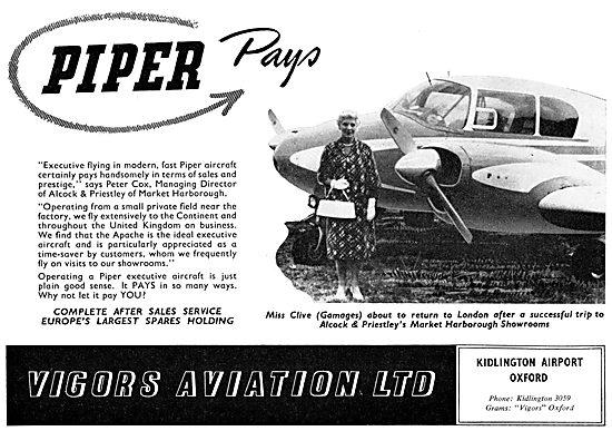Vigors Aviation - Piper Apache