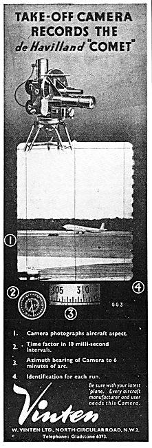 Vinten Instrument Recording Cameras