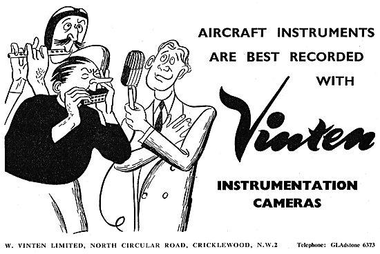 Vinten Aircraft Reconnaisance & Recording Cameras
