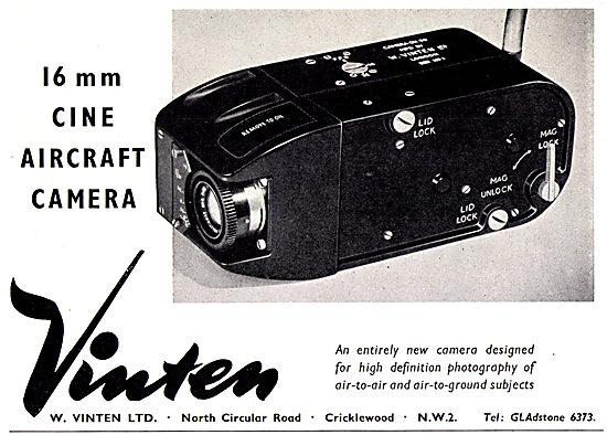 Vinten 16 mm Cine Aircraft Camera