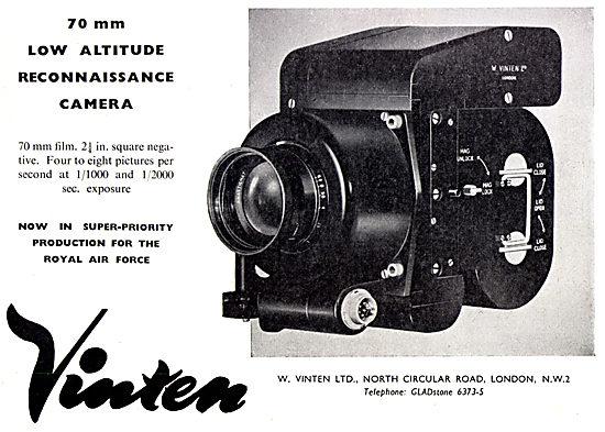 Vinten 70mm Low Alitiude Reconnaissance Camera