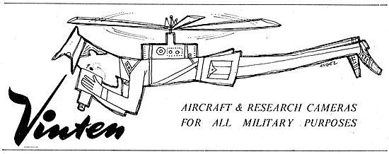 Vinten Aircraft & Research Cameras