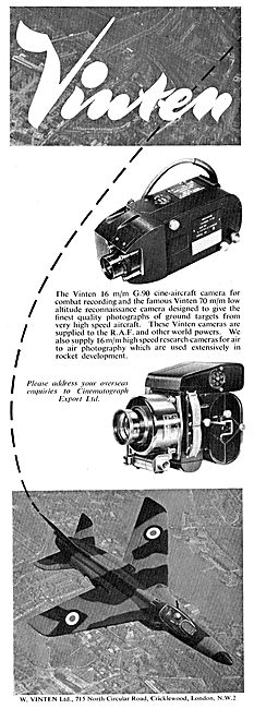 Vinten  G90 Air Reconnaissance Cameras