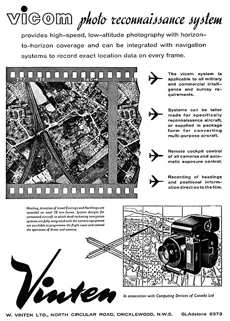 Vinten Aerial Photo Reconnaissance Systems