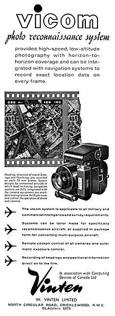 Vinten VICOM Photo Reconnaissance System