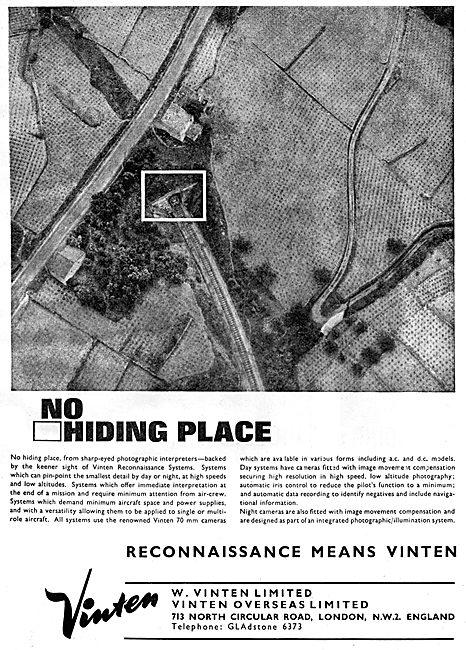 Vinten Aircraft Cameras