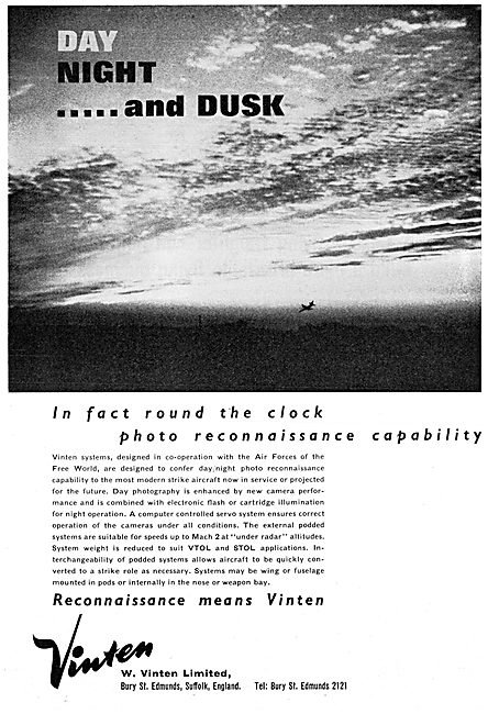 Vinten Photo Reconnaissance Cameras