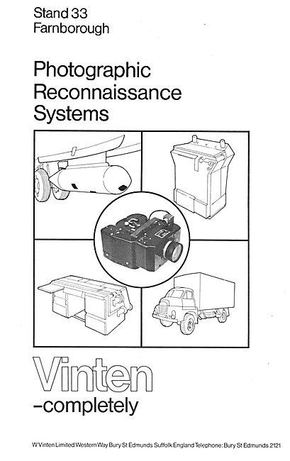 Vinten Photographic Reconnaissance Systems