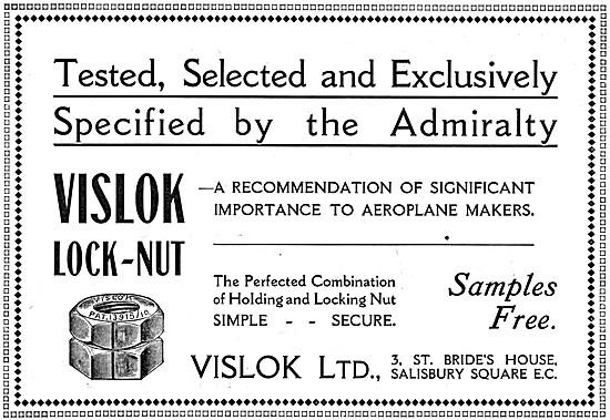 Vislok Saafety Lock Nuts