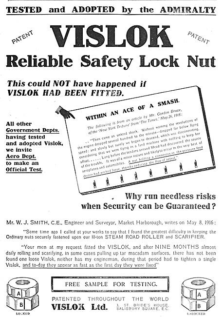 Vislok Safety Lock Nuts