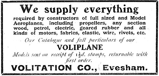 Volitation Co: We Supply Everything For Aeroplanes And Models