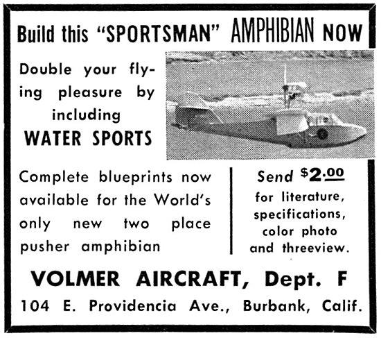 Volmer Sportsman Amphibian