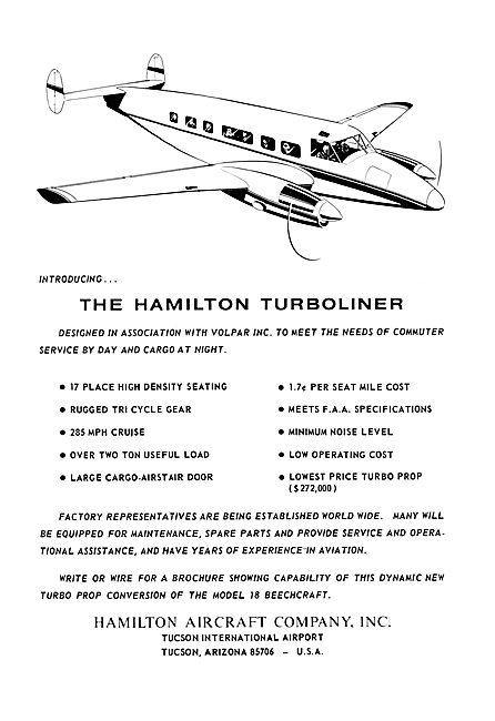 Hamilton Volpar Turboliner 1968