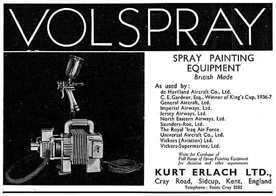 Volspray - Portable Spray Painting Equipment.