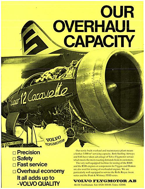 Volvo Flygmotor Aero Engines 1973