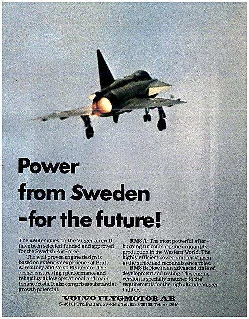 Volvo Flygmotor Aero Engines
