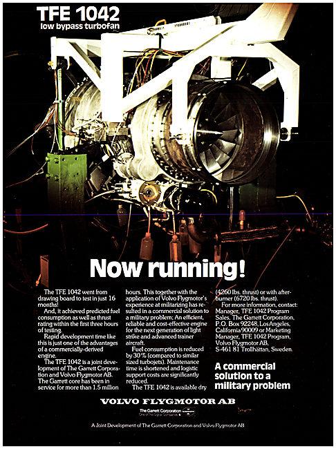 Volvo Flygmotor.TFE 1042
