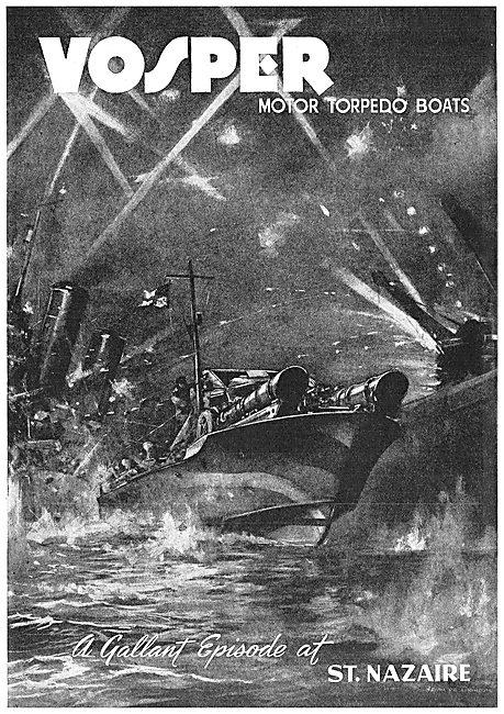 Vosper Motor Torpedo Boats - St Nazaire