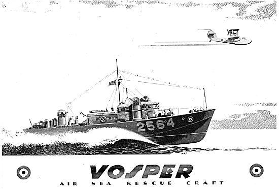 Vosper Air Sea Rescue Launches