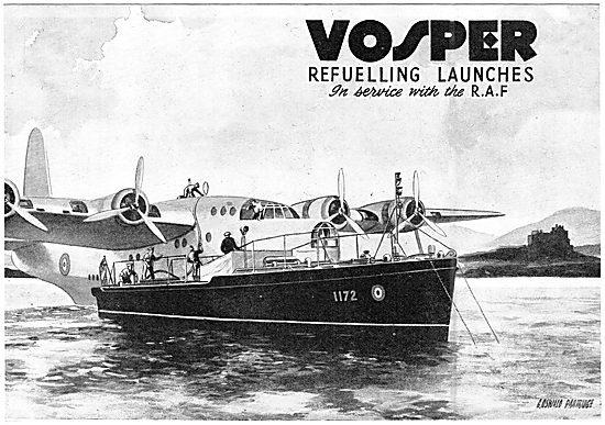 Vosper Marine Craft - Seaplane Tenders