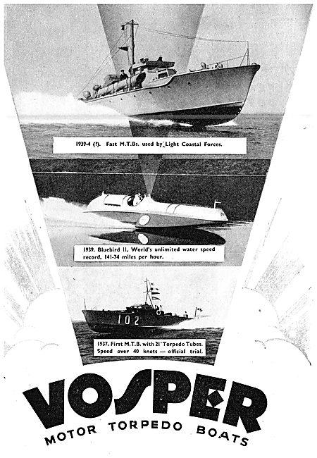 Vosper Marine Craft - Motor Torpedo Boats