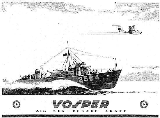 Vosper Marine Craft - Air-Sea Rescue Launches