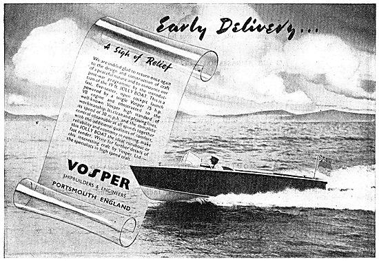 Vosper 19' Jolly Boat