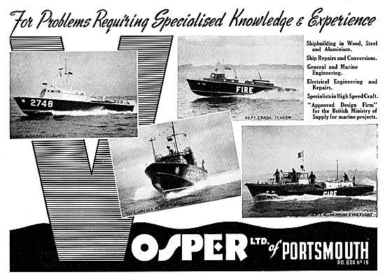 Vosper Watercraft, Nautical Craft Repairs & Shipbuilding