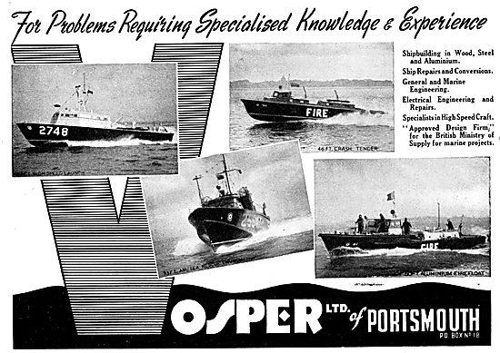 Vosper Marine Craft