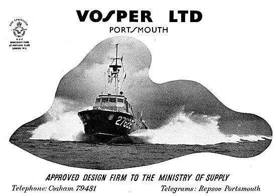 Vosper Marine Craft 1957