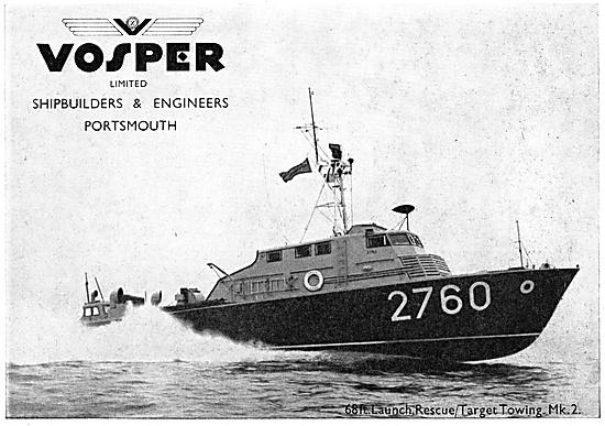 Vosper Marine Craft 1958