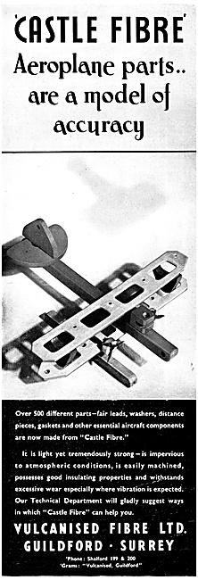 Vulcanised Fibre  Aircraft Components
