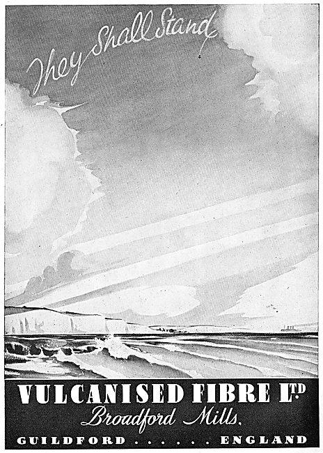 Vulcanised Fibre  Aircraft Components 1942