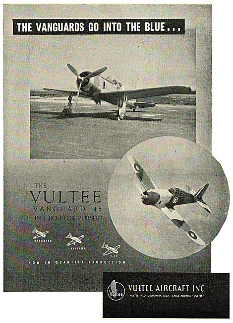Vultee Vanguard 48