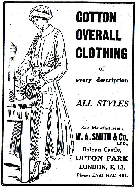 W.A.Smith & Co. Cotton Overalls Of All Styles