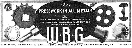 WBG Presswork For Aircraft In All Metals