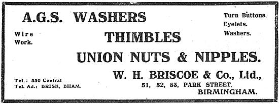 W.H.Briscoe AGS Parts