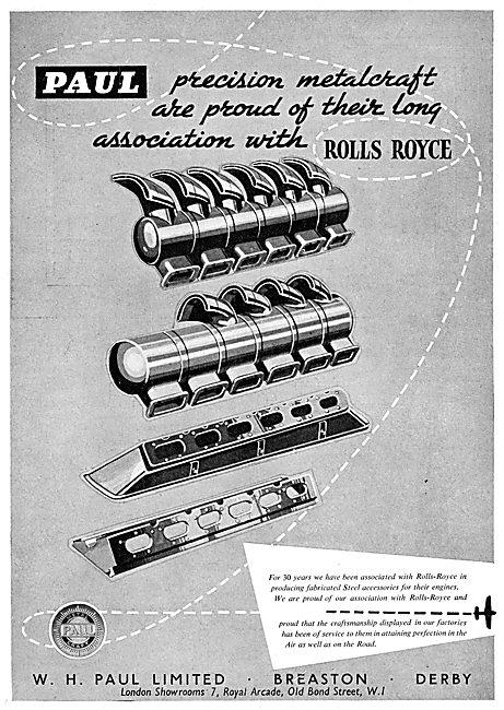 W.H.Paul. Breaston. Fabricated Steel Accessories