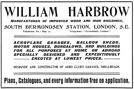 William Harbrow - Improved Wood & Iron Buildings