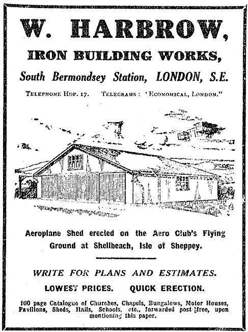 W. Harbrow South Bermondsey - Iron Building Works & Hangars