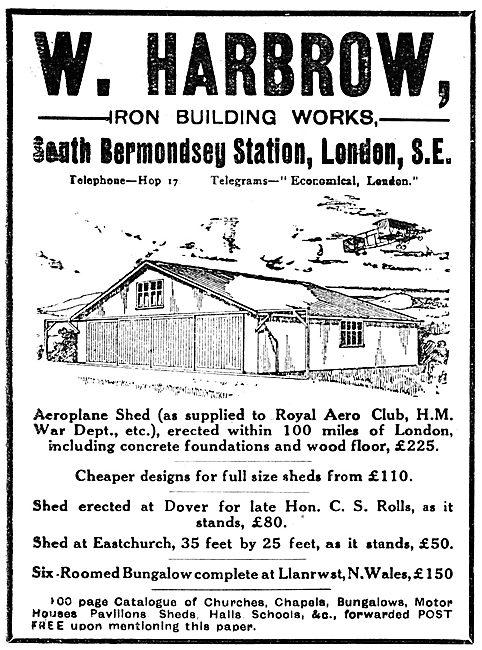 W. Harbrow - Iron Buildings. Hangars, Factories & Workshops