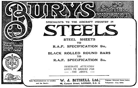 W.J.Bithell - Steels For The Aircraft INdustry
