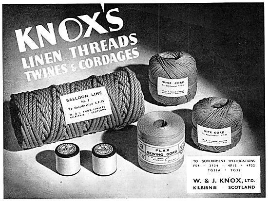 W & J.Knox, Nachine Linen Thread