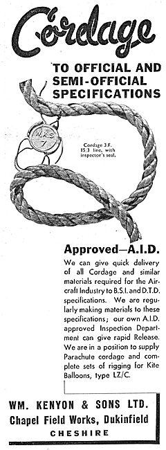W.M.Kenyon Ropes & Cordage